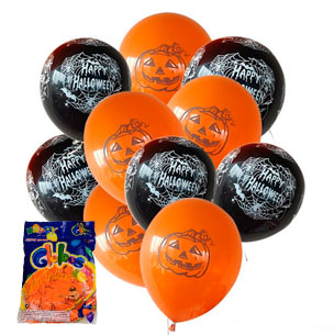 globos halloween impresos