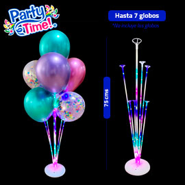 parante led luminoso de globos 75 cms
