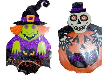 letreros halloween variados