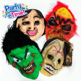 Máscaras de jebe