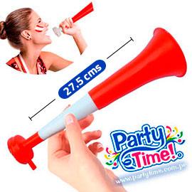 Vuvuzela BLANQUIROJA