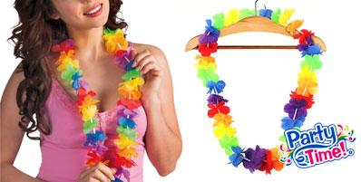 Línea hawaiana Collar Fiesta