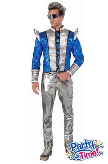 disfraz futurista hombre