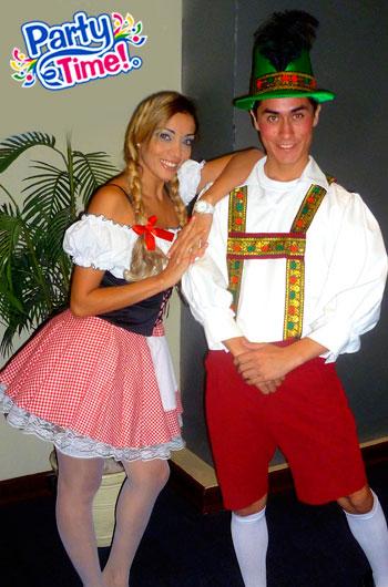 disfraz pareja alemanes oktober fest
