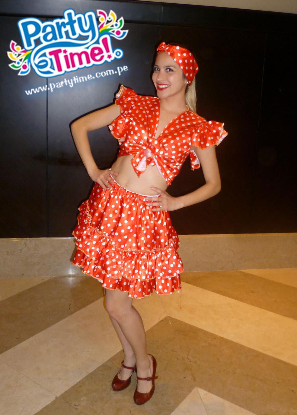disfraz bailarina afro
