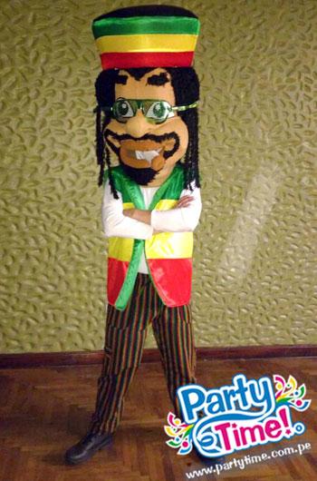 disfraz bob marley reggae
