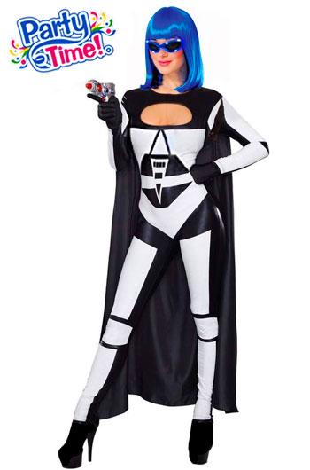 disfraz trooper sexy mujer